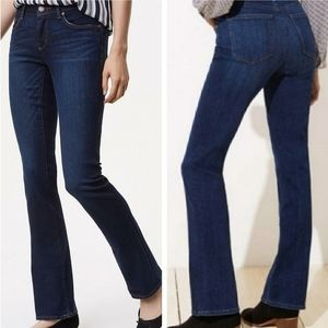 Ann Taylor LOFT Original Bootcut Jeans Blue 14P